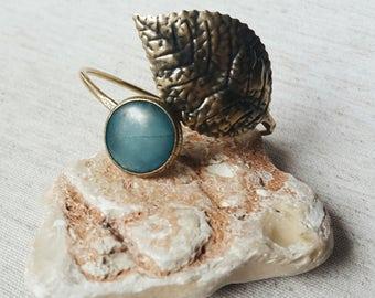 Bracelet,Brass bracelet,Brass Bangle,Women bracelet,Adjustable bracelet,Antik Gold Brass ,Jade stone,Turquoise,Retro style,Mothers day gift
