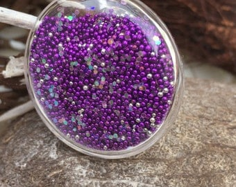 Ring bubble microbeads.
