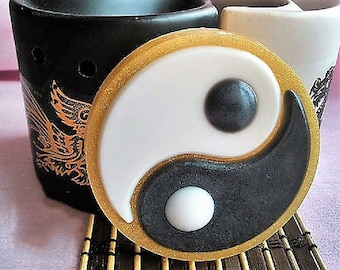 Ying Yang Soap,Circle Soap,Chinese Symbol,Men Gift,Women Gift,Party Favor