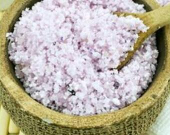 Vanilla lavender bath salts