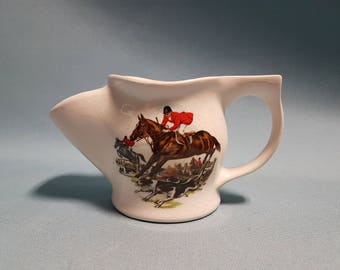 Fox Hunt Scene Shaving Mug, Made in England