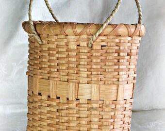 Handwoven Basket Purse