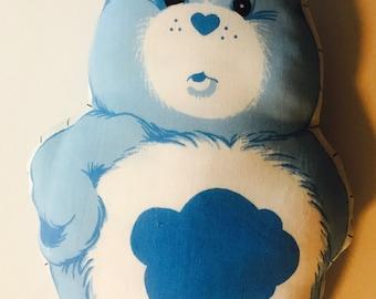 Vintage 1980's Grumpy Bear cloth Care Bear