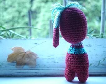 Crochet Cotton Doll - Handmade- One of a Kind- Amigurumi