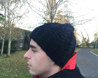 FREE SHIPPING For UK, Handmade Warm 100% Wool Winter Hat ( Brtish collection)