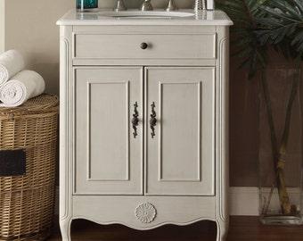 """26"""" 2 doors Daleville Bathroom Sink Vanity - 838CK"""