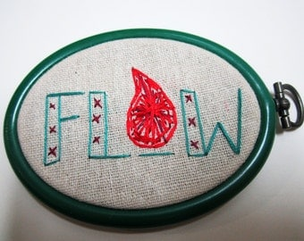 Flow Embroidery