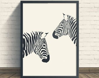 Zebra Print, Girl Nursery Decor, Baby Girl Nursery, Nursery Art, Nursery Prints, Zebra Art, Zebra Print Wall, Art Print