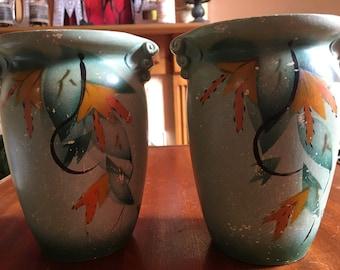 Zanobia Ware Vases (pair)