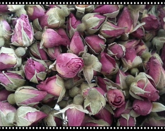 Rose Buds Red per 50g-Dried Herb herbal Pack- strong fragrance - wedding party decoration / bath soak / soap making material