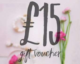 Gift Certificate - Gift Voucher - Gift For Mum - Baby Shower - New Mum