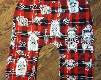"Pants ""Lumberjack red"""