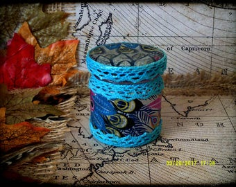 Hand Decorated Mini Secret Stash Jar Cannabis/Marijuana/Weed/Herb/Pills...Wedding Favour 45ml