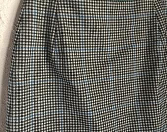 Vintage 90s Check Plaid Mini Skirt Small-Med Size 8-10