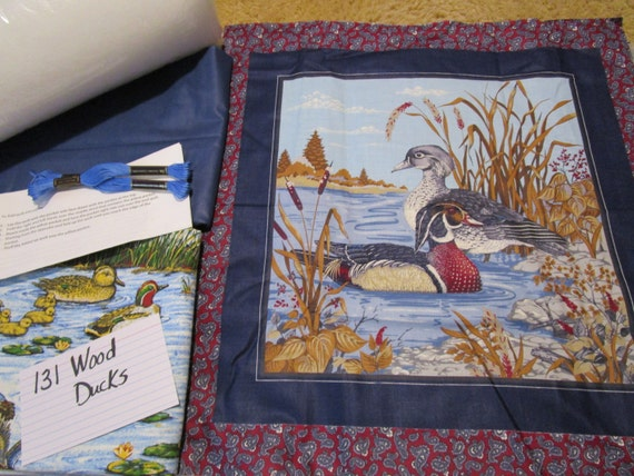 Wood Duck - Pillow Quilt Kit