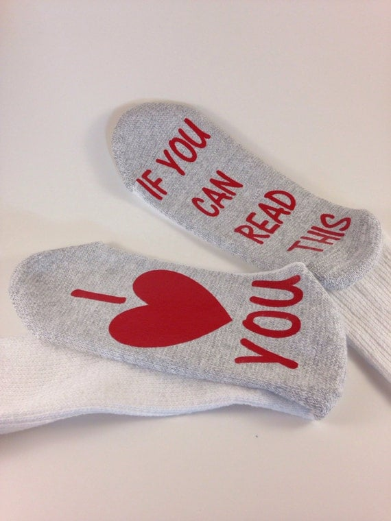 Socks if you can read this i love you