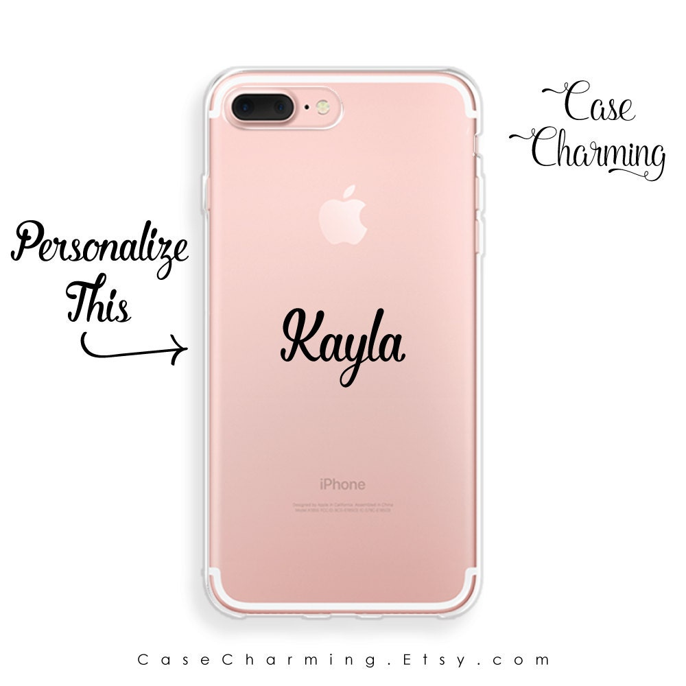 iphone 7 plus case name iphone case clear iphone 7 case iphone. Black Bedroom Furniture Sets. Home Design Ideas