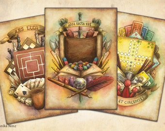 Board Game and P&P Art Poster Collection