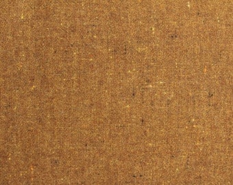 Nubby Gold, Felted Wool Fabric for Rug Hooking, Wool Applique and Crafts