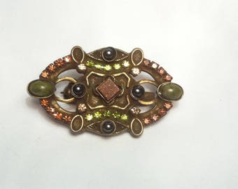 Sorrelli Signed Brooch