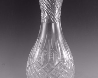 "STUART Crystal - SHAFTESBURY Cut - Water / Wine Carafe - 10 3/4"" (1st)"