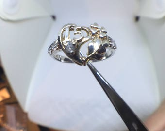 Sweet 15 Ring Sterling ( Free Shipping )