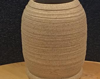 Hand thrown vase