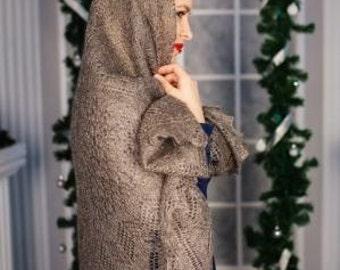 Orenburg downy shawl