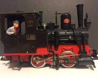 Train Vintage Lehmann W. Germany LGB Train Engine Locomotive 2010 No.1994 G Scale