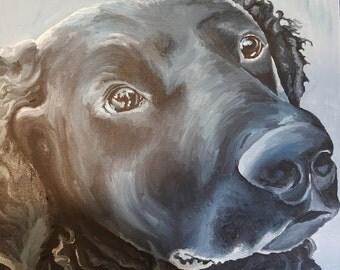 16x16 Realistic Pet Portrait