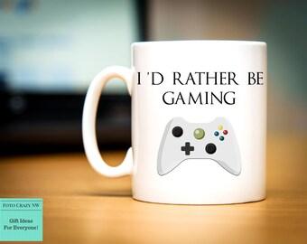 I'd Rather be Gaming | Gamer Mug | Xbox | PC