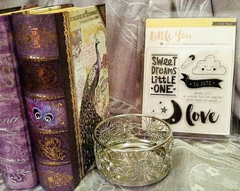 Crate Paper Little You 12 pc. Acrylic Stamp Set ~Sweet Dreams~ CLEARANCE!