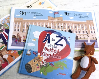A to Z of the United Kingdom - Early readers book