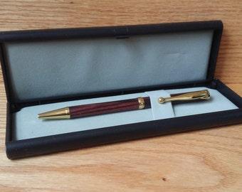 Handmade Kingwood Ballpoint Pen