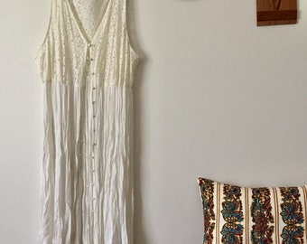 Crochet Lace Summer Duster