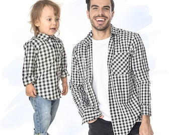 Dad and Baby Matching Shirts, Father and Son Matching Shirts, Dad Matching Set, Cool Dad Tshirt, Daddy and Son Outfit, Daddy's Boy Outfit