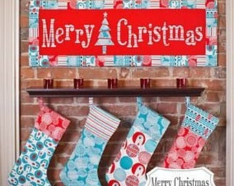 Christmas Applique Wall Art Pattern