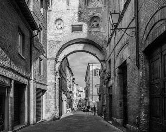 Siena Italy Pathway, Tuscany Photography