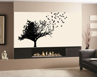 Exceptional Wall Decal Sticker Bedroom Tree Of Life Twho Sides Tree Bible Jesus Room  Decor 118b Amazing Ideas