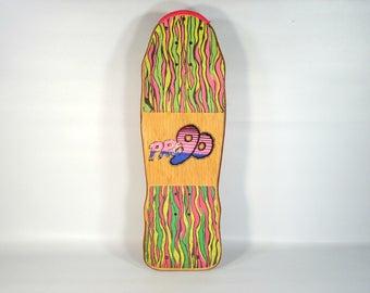 Vintage Pro 90 Skateboard / Vintage Skate / 80s Skateboard / Pro90 Capital Proleam Skateboard