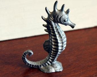 Pewter Seahorse