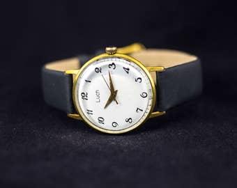 Vintage watch, Luch ussr watch, military watch, russian watch, soviet watch, mechanical watch, retro watch, wrist watch, mens wrist watches