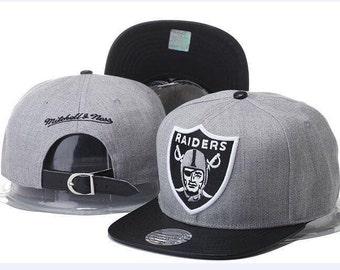 Grey Raiders Mitchell & Ness Strapback