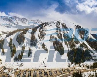 11.75 x 36 Arapahoe Basin Ski Resort