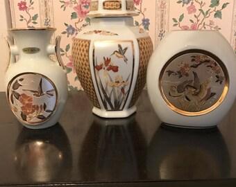Chokin vases