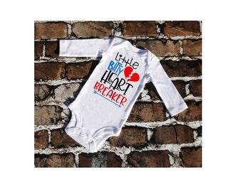 Little Bitty Heart Breaker Valentine's Bodysuit
