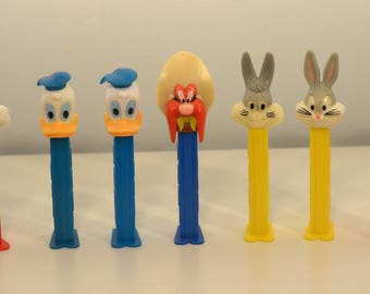 Vintage Pez Candy Dispensers