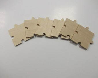 Wooden Puzzle Piece - Plain Birch Plywood