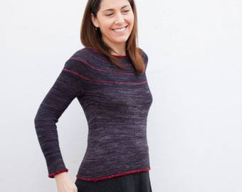 Gala Sweater Knitting Pattern