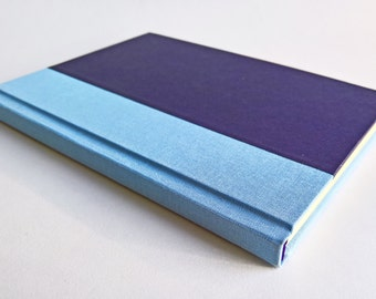 Blue/Purple Notebook Paper Cover